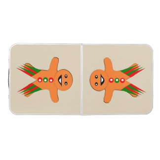Christmas Party Gingerbread Man Pong Table
