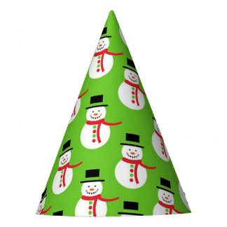 Christmas Party Hat/Snowmen Party Hat