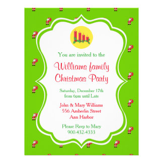 Christmas Party Invitation Flyer