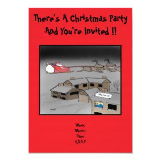 Christmas Party Invitation: Naughty Or Nice Card