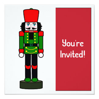 Christmas Party Invitation Nutcracker