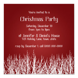 Christmas Party Invitations Holiday Party Invites