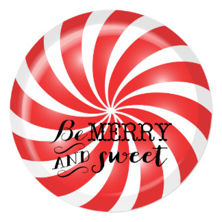 Christmas Party Invitations | Peppermint