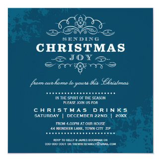CHRISTMAS PARTY INVITE :: sending christmas joy 4