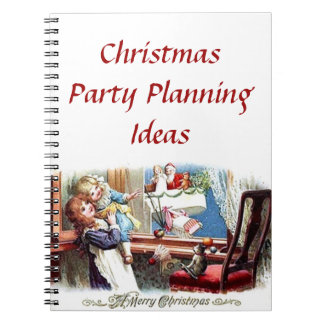 Christmas Party Planning Ideas Notebook