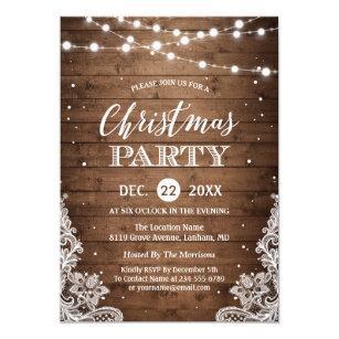 country christmas invitations announcements zazzle com au