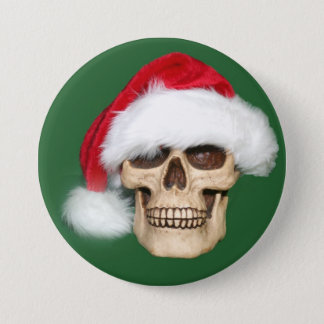 Christmas past 7.5 cm round badge