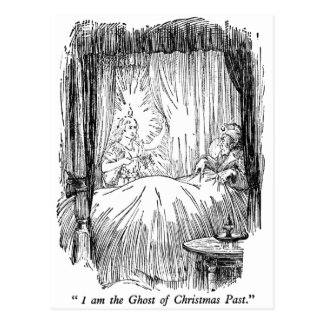 Christmas Past (with text) Postcard