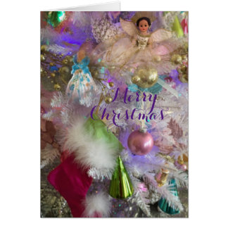 Christmas Pastels Greeting Card