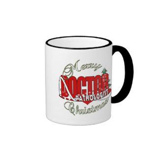 CHRISTMAS PATHOLOGIST DOCTOR COFFEE MUG