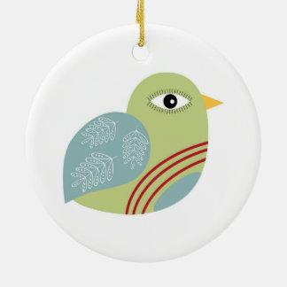 Christmas Patridge Ceramic Ornament