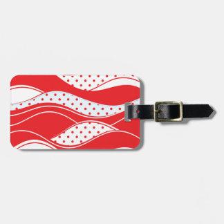 Christmas pattern 2 luggage tag