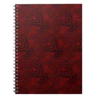 Christmas pattern 4 notebook