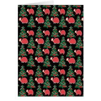 Christmas pattern card
