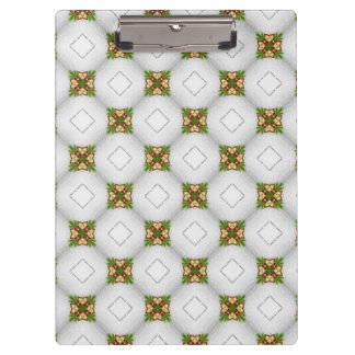 Christmas Pattern Clipboard