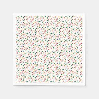 Christmas pattern disposable napkin