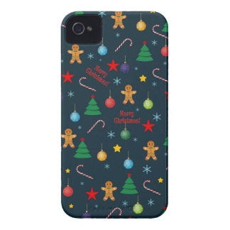 Christmas pattern iPhone 4 covers