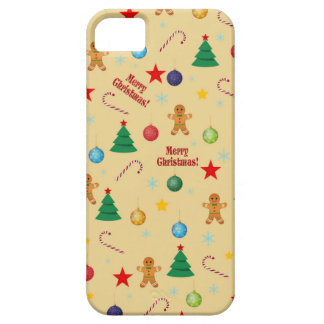 Christmas pattern iPhone 5 cover