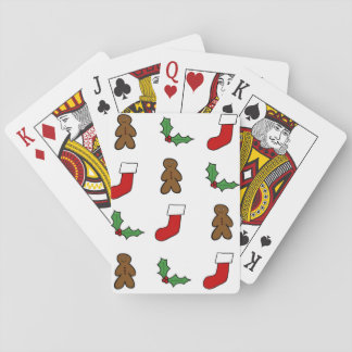 Christmas Pattern Playing Cards