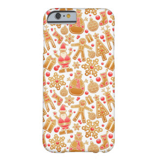 Christmas Pattern-Santa Claus Tree Rudolph Snowman Barely There iPhone 6 Case