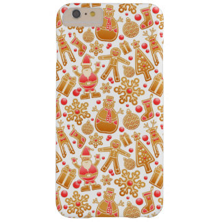 Christmas Pattern-Santa Claus Tree Rudolph Snowman Barely There iPhone 6 Plus Case