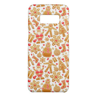 Christmas Pattern-Santa Claus Tree Rudolph Snowman Case-Mate Samsung Galaxy S8 Case