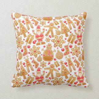 Christmas Pattern-Santa Claus Tree Rudolph Snowman Cushion
