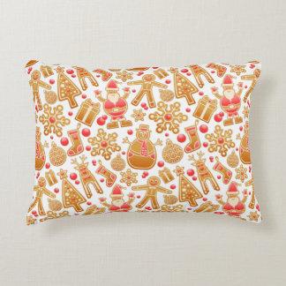 Christmas Pattern-Santa Claus Tree Rudolph Snowman Decorative Cushion