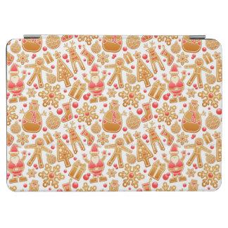 Christmas Pattern-Santa Claus Tree Rudolph Snowman iPad Air Cover