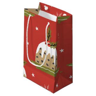Christmas Pattern Small Gift Bag