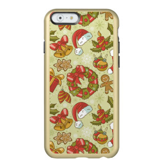 Christmas Pattern Vintage Style Incipio Feather® Shine iPhone 6 Case