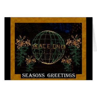Christmas Peace on Earth 1 Greeting Card