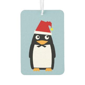 Christmas Penguin Car Air Freshener