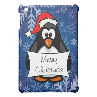 Christmas Penguin iPad Mini Cases