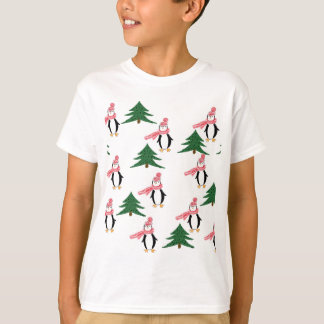 Christmas Penguin Muffin T-Shirt