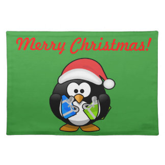 Christmas Penguin Placemat