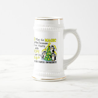 Christmas Penguins Bladder Cancer Coffee Mug