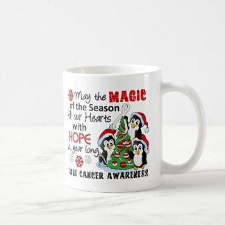 Christmas Penguins Bone Cancer Mug