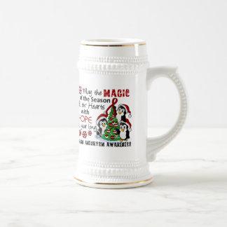 Christmas Penguins Brain Aneurysm Coffee Mug