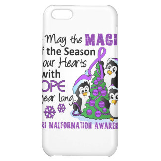 Christmas Penguins Chiari Malformation iPhone 5C Covers