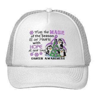 Christmas Penguins General Cancer Trucker Hat