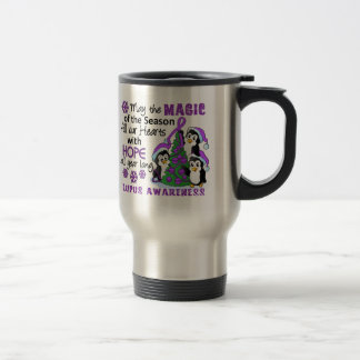 Christmas Penguins Lupus Mug