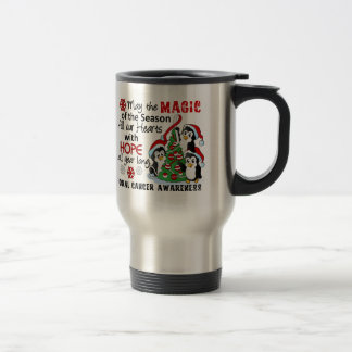 Christmas Penguins Oral Cancer Coffee Mug