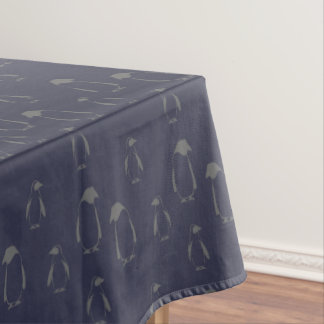 Christmas penguins pattern - Xmas gifts Tablecloth