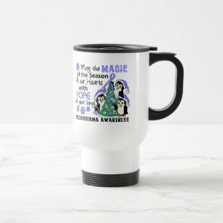 Christmas Penguins Scleroderma Coffee Mug