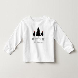 Christmas Penguins Toddler T-Shirt