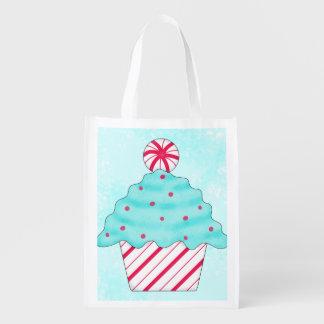 Christmas Peppermint Cupcake Art Whimsy Gift