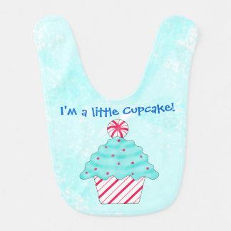Christmas Peppermint I'm a Little Cupcake Bib