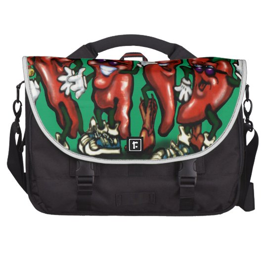 Christmas Peppers Commuter Bag