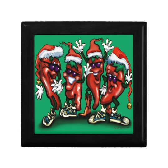 Christmas Peppers Gift Box